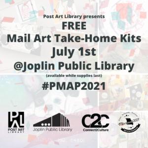 Post Art Library Mail Art Take-Home Kits